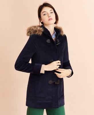 Brooks Brothers Water-Repellent Cotton Corduroy Duffle Coat