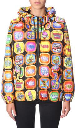 Moschino Graphic Print Bomber Jacket