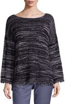 Joie Persis Spacedye Knitted Top