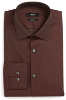 BOSS Men's Slim Fit Check Dress Shirt