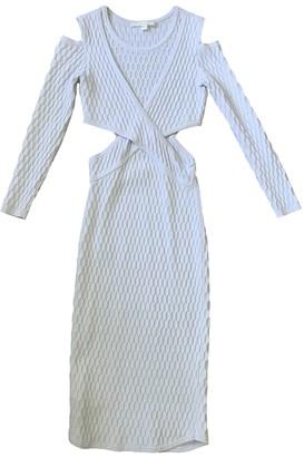Jonathan Simkhai White Synthetic Dresses