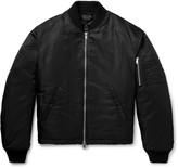 Raf Simons - Oversized Appliquéd Nylon Bomber Jacket