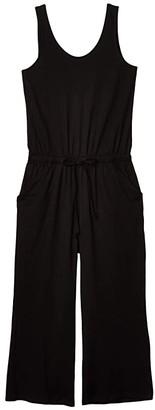 Pact Organic Cotton Jumpsuit (Black) Women's Jumpsuit & Rompers One Piece