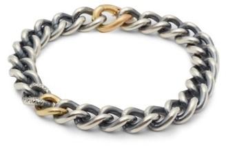 hum Sterling-silver, 18kt Gold & Diamond Bracelet - Womens - Silver Gold