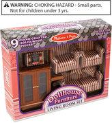 Melissa & Doug Kids Toys, Dollhouse Living Room Furniture