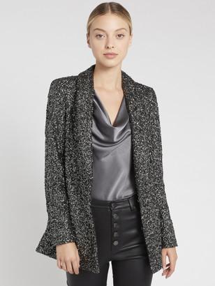 Alice + Olivia Jace Sequin Oversized Blazer