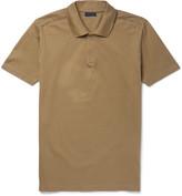 Lanvin - Slim-fit Cotton-piqué Polo Shirt