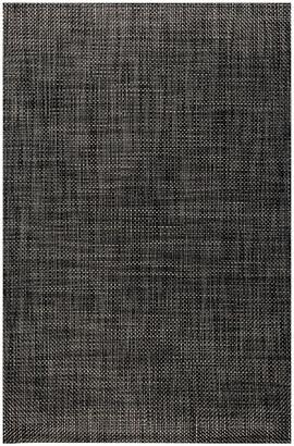 Chilewich Basketweave Rug - Carbon - 59x92cm