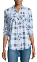 Rails Carter Plaid Chambray Shirt, Pigment Plaid