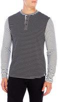 Sovereign Code Stripe Long Sleeve Henley