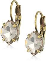 """Sorrelli Peony"""" Petite Navette Crystal Drop Earrings"""