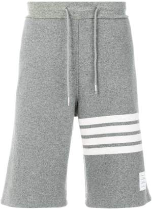 Thom Browne 4-Bar Cashmere Shell Sweatshort