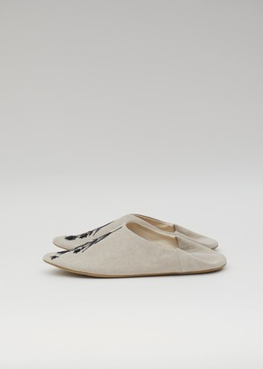 Antipast Knit Slippers Natural / Black