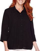 Sag Harbor Bahama Mama 3/4-Sleeve Shirt