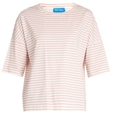 MiH Jeans Oversized striped cotton T-shirt