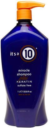It's A 10 it's a 10 miracle shampoo plus keratin