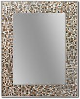 Deco Mirror 30 in. L x 24 in. W Melrose Mosaic Tile Single Wall Mirror