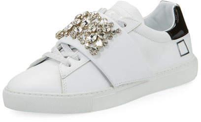 D.A.T.E Newman Jewel-Strap Sneaker