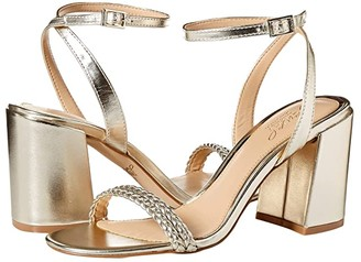 Badgley Mischka Suri (Lt.Gold) Women's Dress Sandals