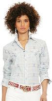 Polo Ralph Lauren Plaid Western Shirt
