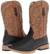Roper Ostrich Print Square Toe Cowboy Boot Cowboy Boots
