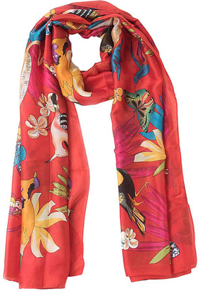 Gregory Ladner Jungle Print Scarf