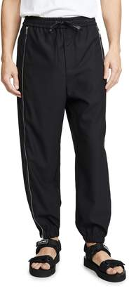 3.1 Phillip Lim Offset Zipper Track Pants