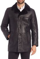 Andrew Marc Long Shearling Coat