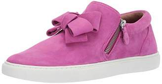 Gentle Souls Women's Lowe Ribbon Double Zip Sneaker