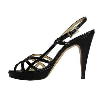 Luciano Padovan Black Leather Sandals