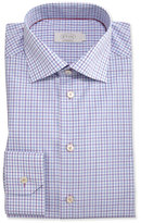 Eton Contemporary-Fit Check Dress Shirt, Purple/Blue