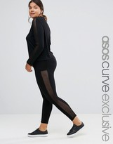 Asos LOUNGE Legging with Mesh Insert Co-ord