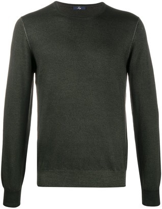 Fay Crew-Neck Wool Pullover