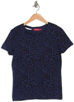 Thumbnail for your product : n:philanthropy Harlow BFF Distressed Leopard T-Shirt