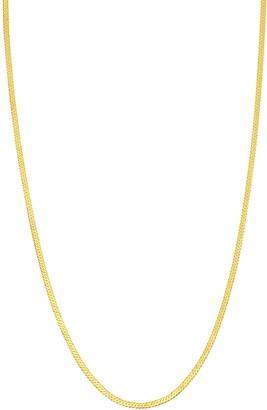 Bony Levy Gold Herringbone Necklace