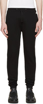 Kenzo Black Small Logo Lounge Pants