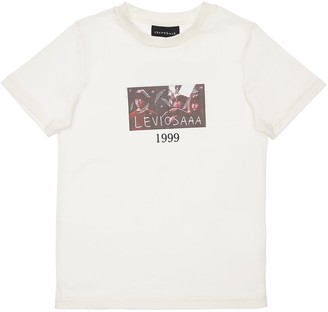 Harry Potter Print Cotton Jersey T-Shirt