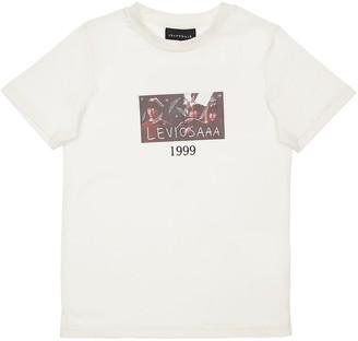 Throwback Harry Potter Print Cotton Jersey T-Shirt