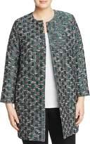 Marina Rinaldi Cordelia Jacquard Duster Coat