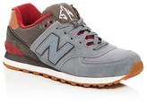 New Balance Men's 574 Collegiate Pack Lace Up Sneakers