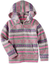 Osh Kosh Hooded Fair Isle Sweater