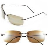 Maui Jim Men's 'Sandhill - Polarizedplus2' 57Mm Polarized Sunglasses - Dark Gunmetal/ Maui Ht