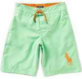Ralph Lauren Big Boys 8-20 Solid Classic Swim Shorts