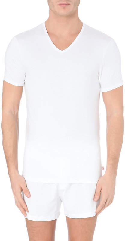 Derek Rose V-neck modal t-shirt