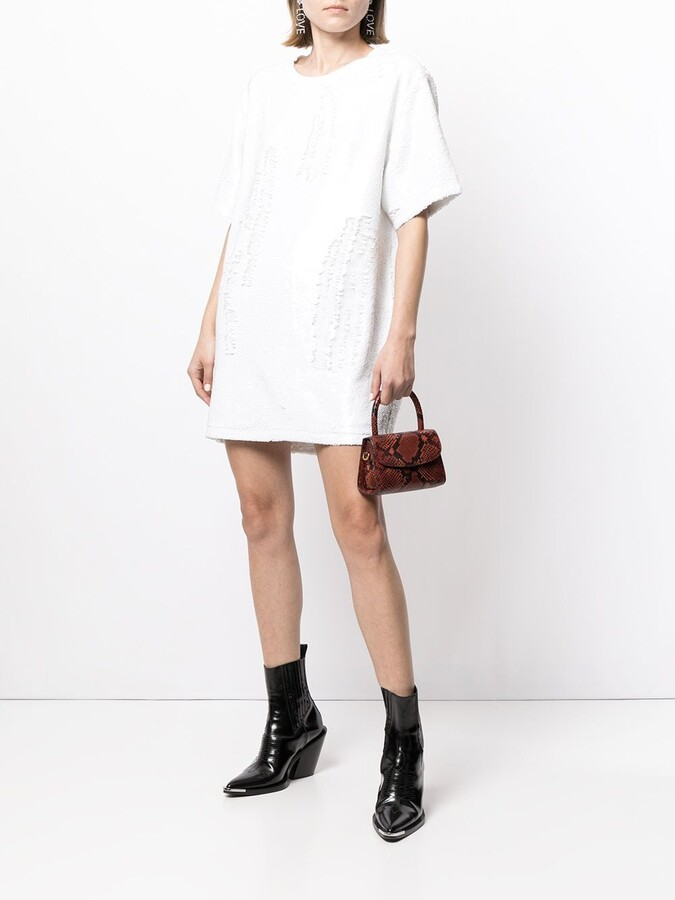 Thumbnail for your product : RtA Romy sequined T-shirt dress