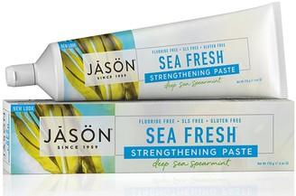 Jason Sea Fresh Strengthening All Natural Toothpaste 170G