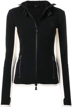 Moncler hooded sports jacket
