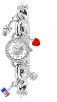 "Game Time Women's MLB-CHM-SEA ""Charm"" Watch - Seattle Mariners"