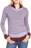 J.Crew Tippi Jacquard Dot Sweater