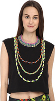 Love Moschino Woven Trim Sleeveless Crop Top Women's Blouse